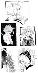 Volsung Sketch Page by Vol-chan