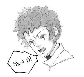 Gesa Sketch by Vol-chan