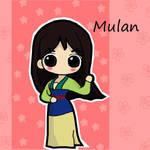 Mulan by ikklesammy
