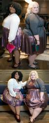 Two heavy women by EnergyToBeauty