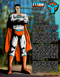 Titan - Character Profile by robertllynch