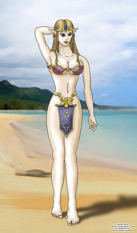 Zelda Swimsuit by robertllynch