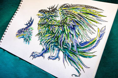 Corrupted Dreadwing by ksenyan