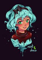 Day 01 - Mint Choco by Noxmoony