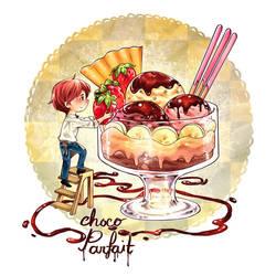 Day 06 - Choco Parfait by Noxmoony