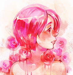 Rose Pink by Noxmoony
