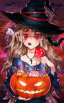 Halloween Witch by Noxmoony