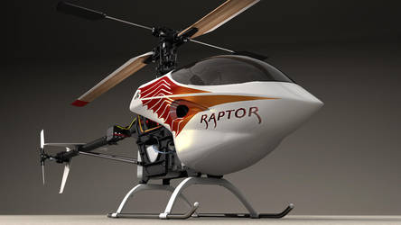 Radio Controlled helicopter by 3Dapple