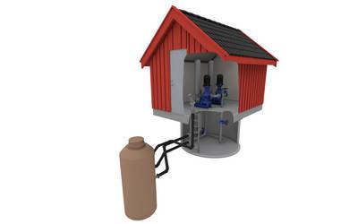 Pump house by 3Dapple