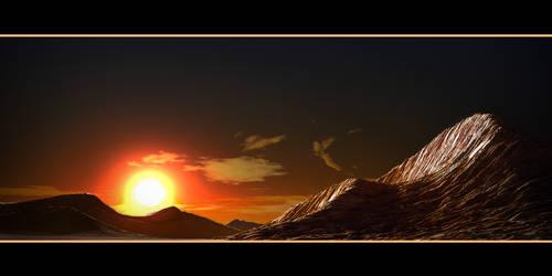 Alien Sunset by 3Dapple