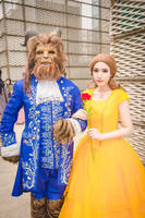 beauty and the beast cosplay by Zuoying