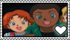 Danny x Francis Stamp by Pegasister28