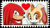 Knuckles x Cream Stamp by Pegasister28
