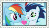 Soarin x Rainbow Dash Stamp by Pegasister28