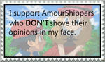 I support AmourShippers who Don't act like Fanbrat by Pegasister28