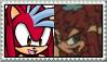Jon x Demi-Na Stamp by Pegasister28