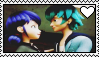 Luka x Marinette Stamp by Pegasister28