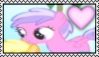 Pinkie Feather Stamp by Pegasister28