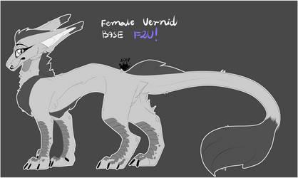 Vernid female base F2U! by Demonic-Husky