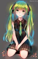 Hatsune Miku by XiLa-Art