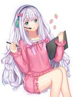 Sagiri Izumi by XiLa-Art