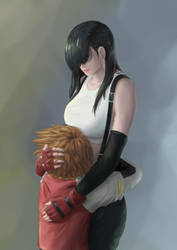 Tifa and Chris - REQUEST by ZDantroy