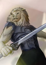 Lionman - OC Request by ZDantroy