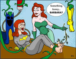 Barbara Gordon/Batgirl Tickle Laughing Gas by LaughingGasZone