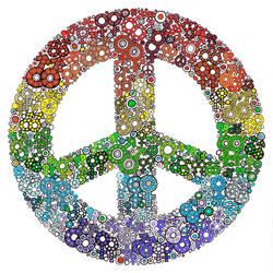 GLBTQ Peace by LindseyRossInk