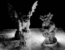 Gargoyles by allknightdesigns