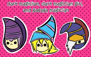 dm, dmg, and gagaga magician by BoSimba
