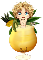 CxN : Noisette - The Pina Colada ! by Tenshi--no--yume