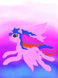 Fly2moon by SilverLeafPONIES