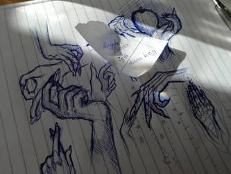 Hands -Study by sssssslytherin2117
