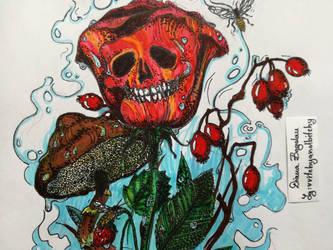 Dead Roses by sssssslytherin2117