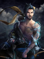 Hanzo - Overwatch by Totemos