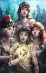 Judgement of Paris by Totemos