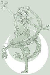 Sailor Moon by SarahSto