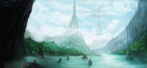 The Three Towers by SamVerdegaal