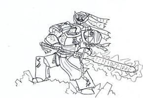Grey Knight Stand by Da-Fuze