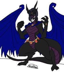 Raven's Dark Dragon Ascension by Da-Fuze