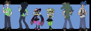 Splatoon Squid Sister TF TG by Da-Fuze