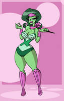 COM Disguested WonderWoman by Da-Fuze