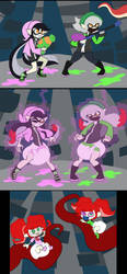 COM Splatoon Octo Regression by Da-Fuze
