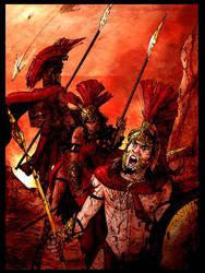 Ares Eris y Fobos by rebenke