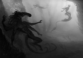 Dangerous encounter by 3Daemon