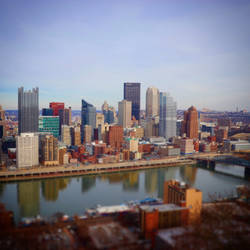 Pittsburgh, PA Skyline by unionjack67