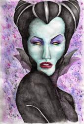 Mistress of Evil by tais-fernandesc