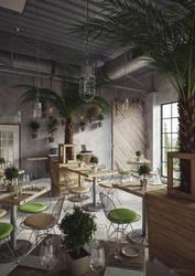 Industrial Restaurant by artec1
