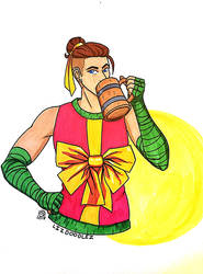 Critical Role: Ugly Sweater Beau by LizDoodlez